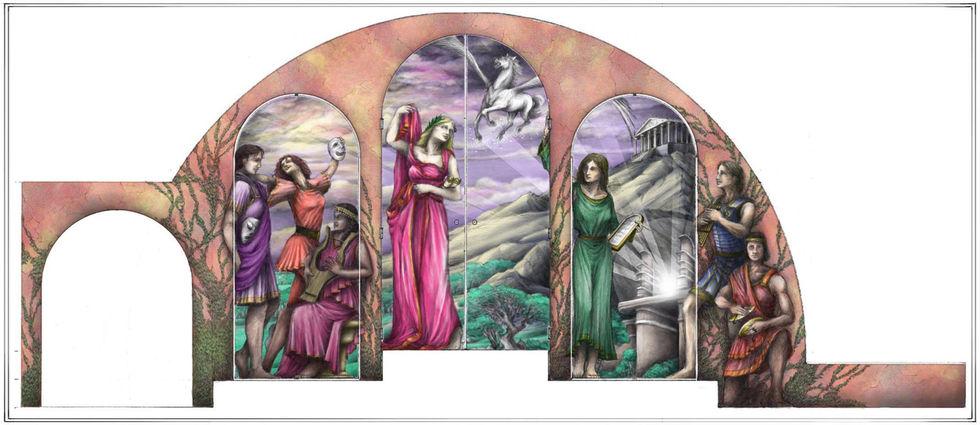 XANADU: Mural Elevation