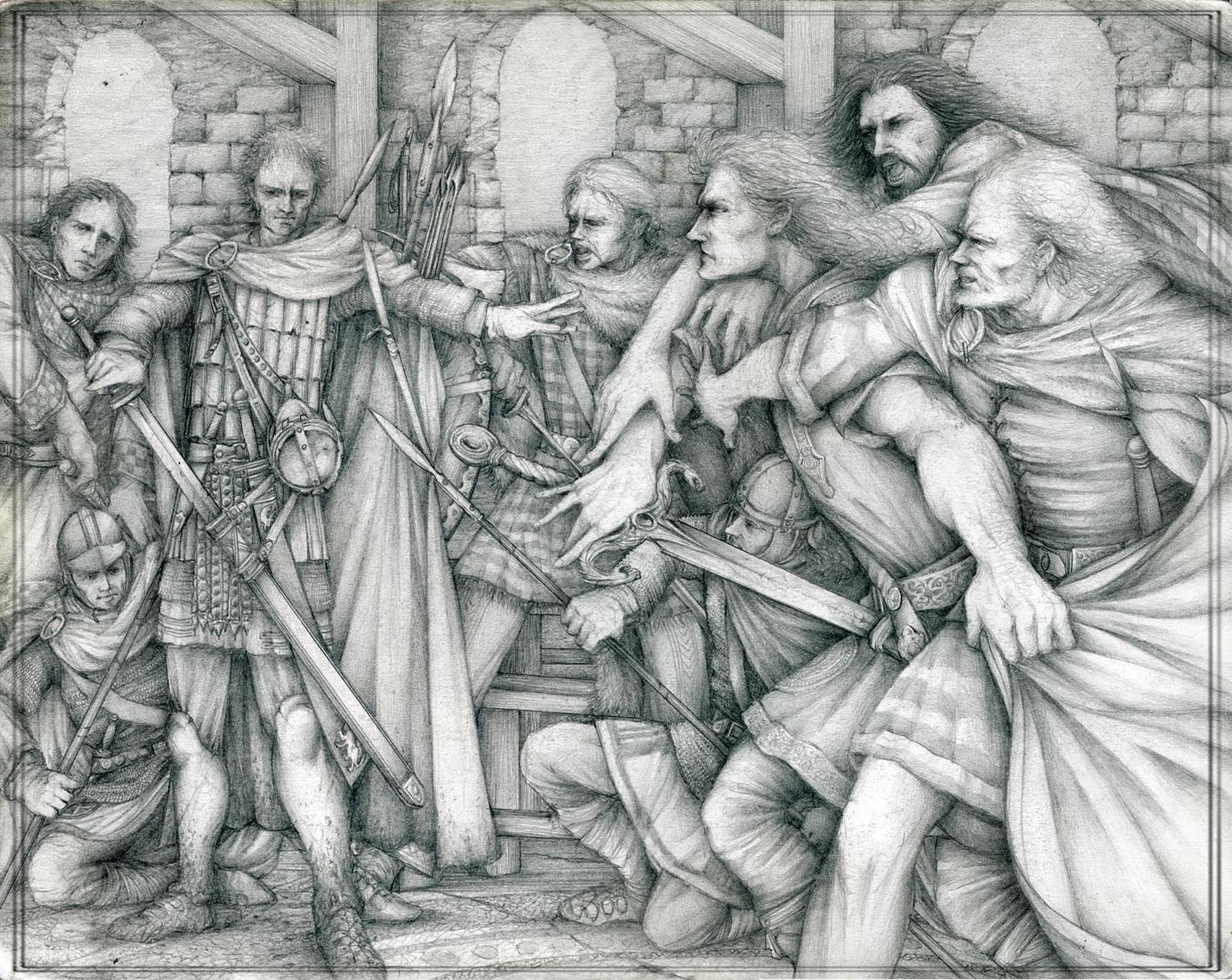 Lancelot Enters