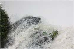 Iguazu Waterfall Closeup #4