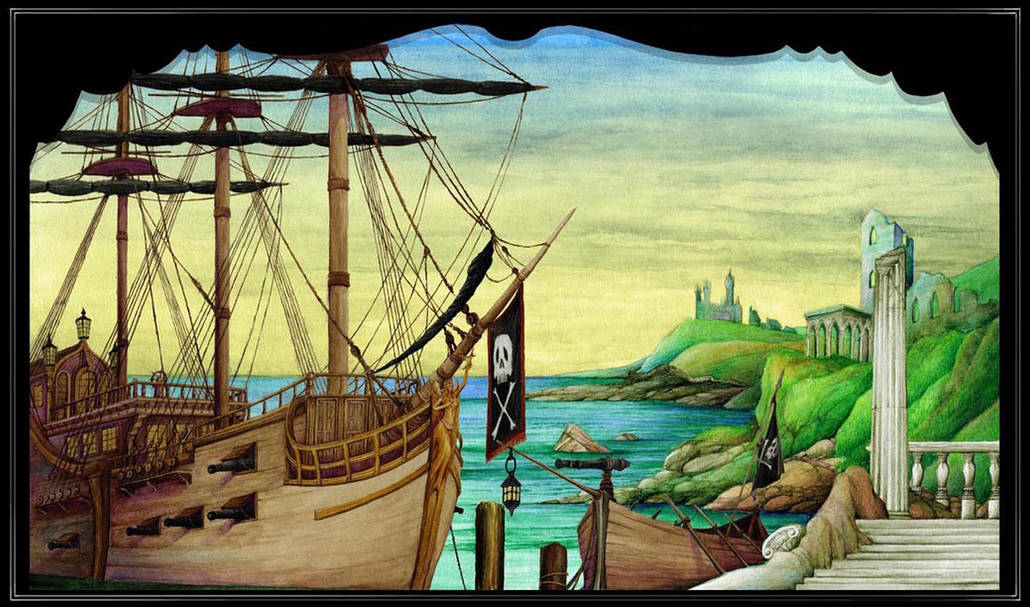 THE PIRATES OF PENZANCE: Projection Design