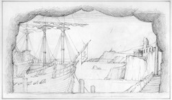 Pirates of Penzance Act 1 Sketch