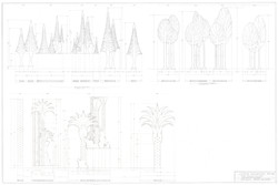 Plate #10.Trees Elevations