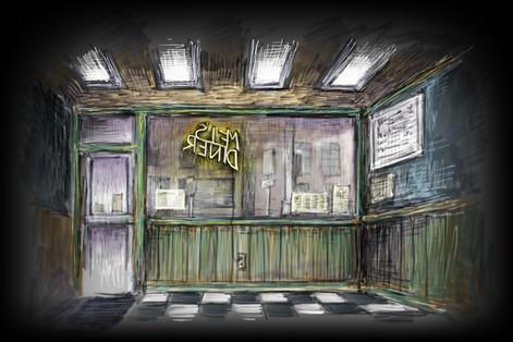 Projection #3: Mel's Diner