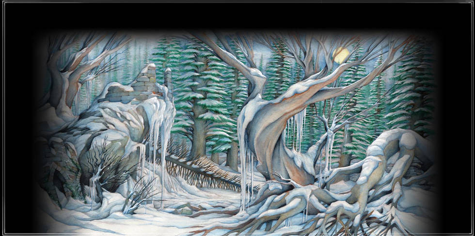 The Nutcracker: The Pine Forest in Winter