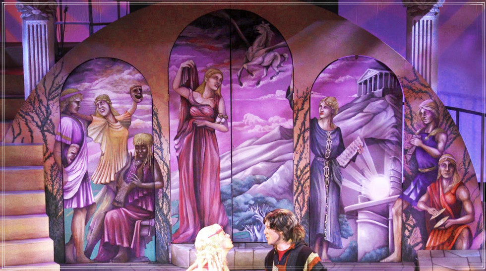 XANADU: The Muses Mural