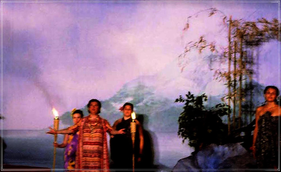 SOUTH PACIFIC: Backdrop