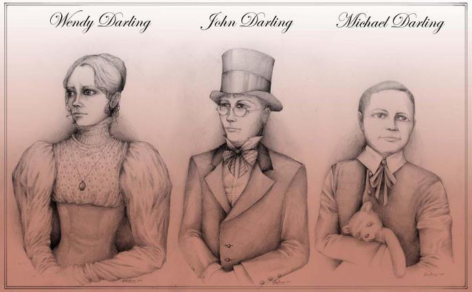 PETER PAN: Darling Children's Portraits