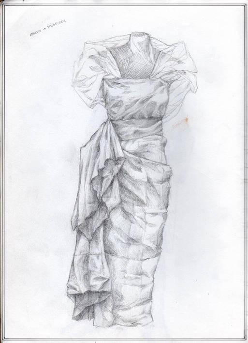 Dressform in Black & White
