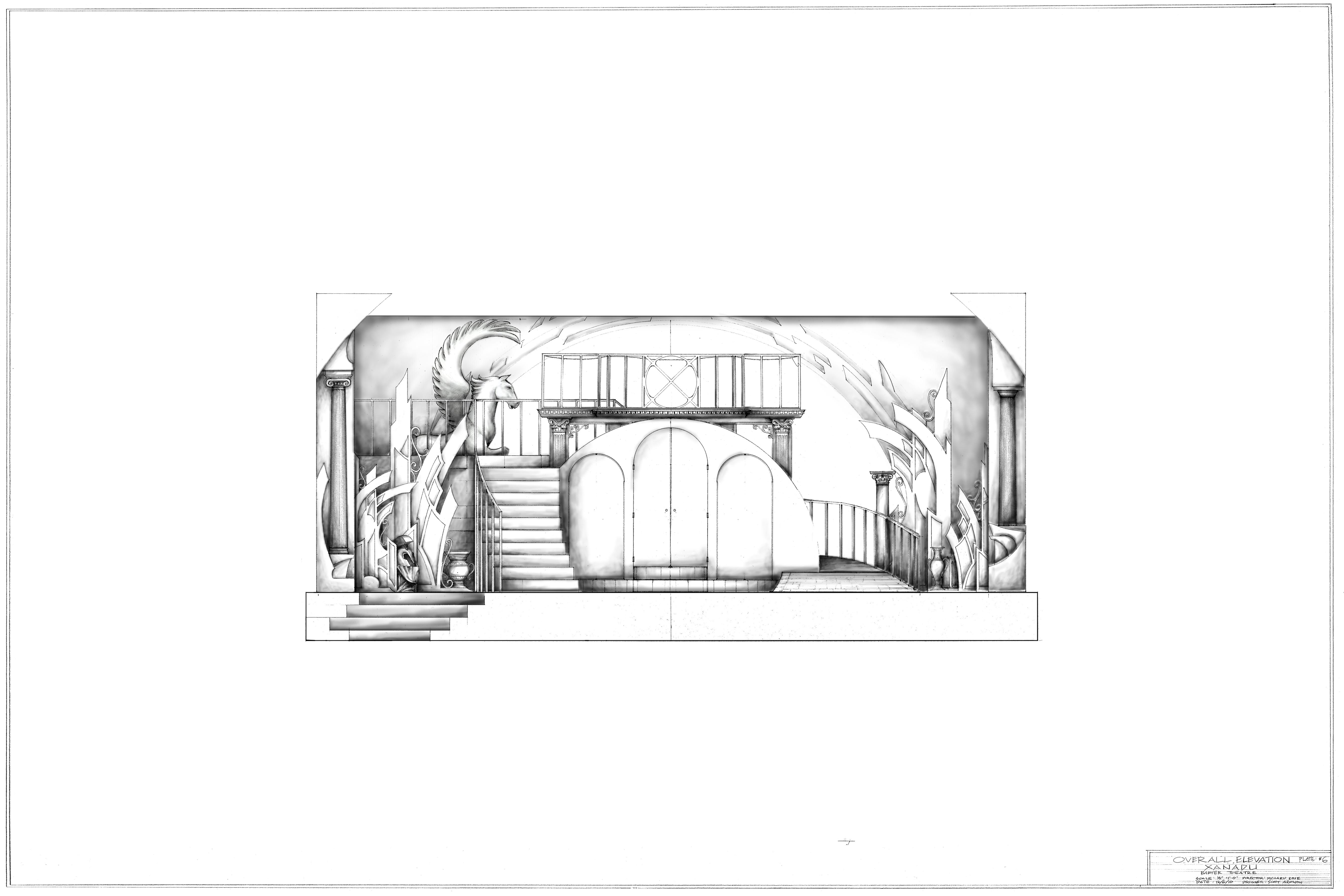 Plate #6-Composite Front Elevation