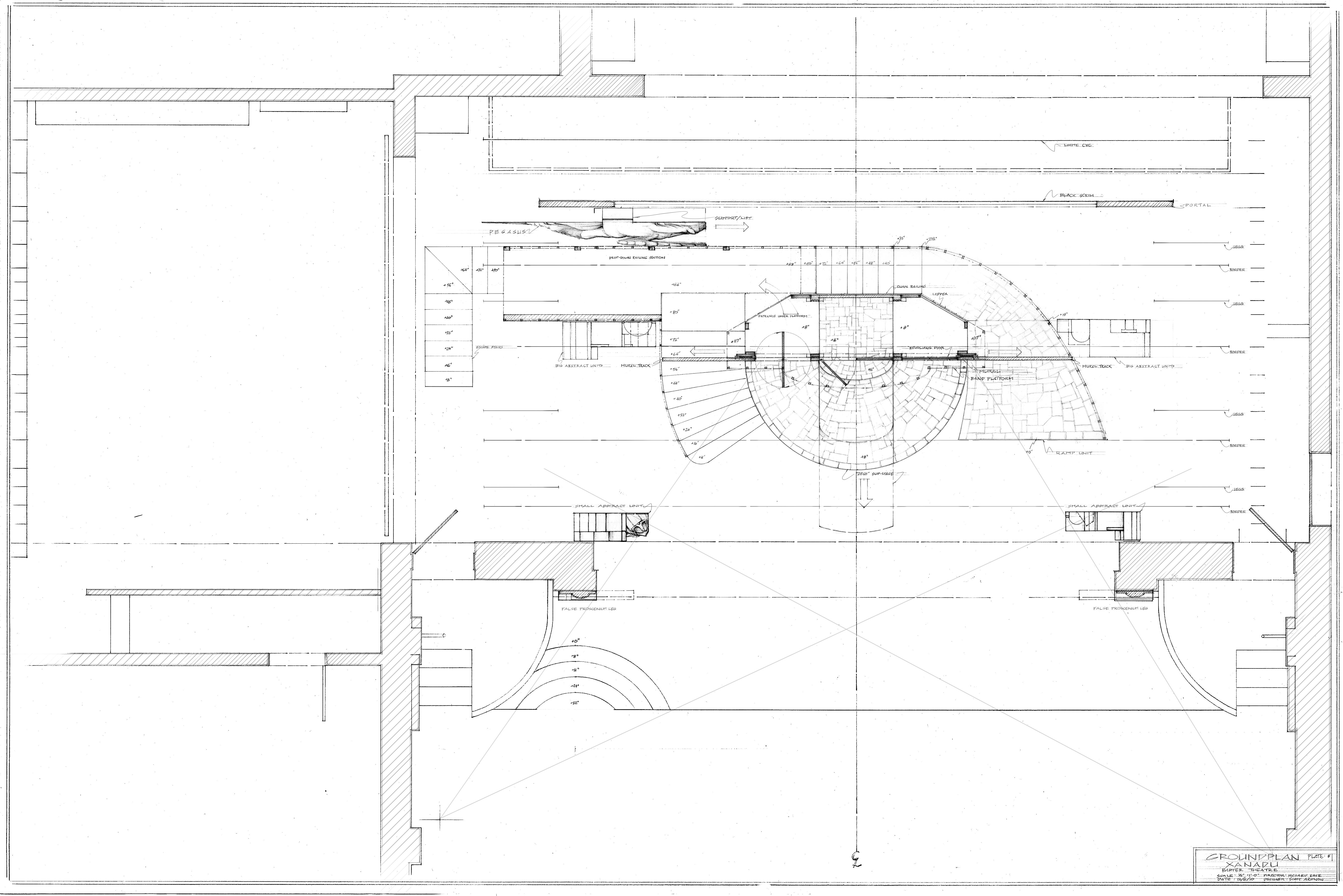 Plate #1-Groundplan