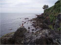 Rachel on the Rocks, RI
