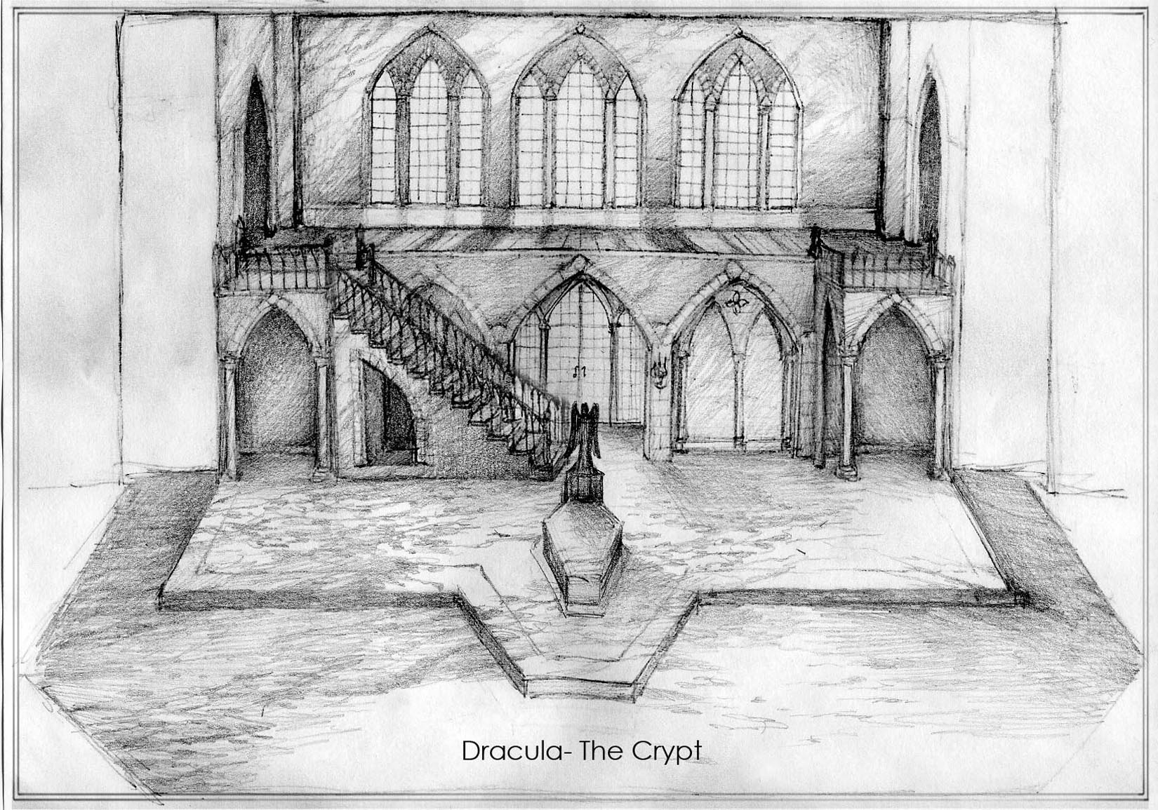 Dracula Sketch-Crypt