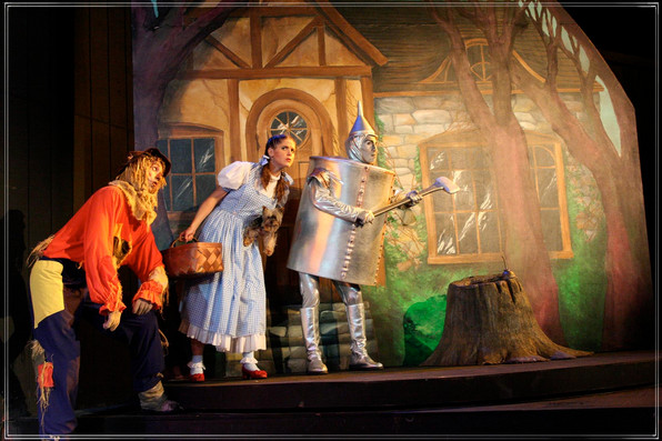 THE WIZARD OF OZ: The Tin Man's House