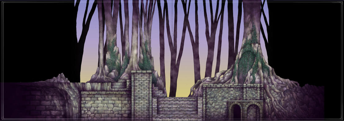 INTO THE WOODS: Composite Color Elevation