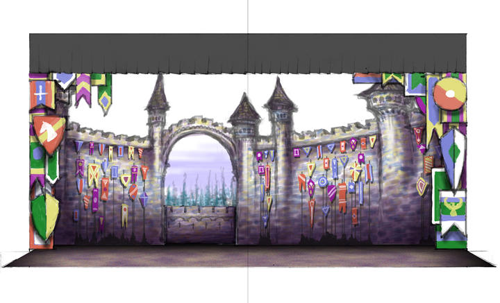 ONCE UPON A MATTRESS: Color Rendering
