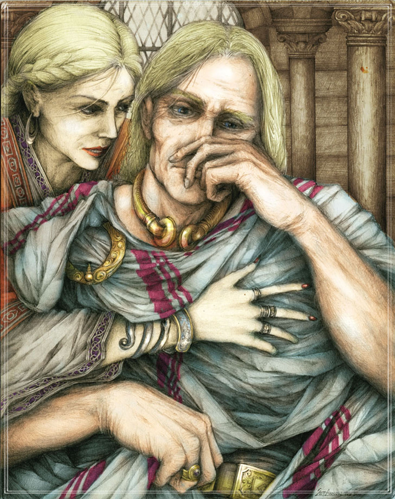 Arthur and Guenevere