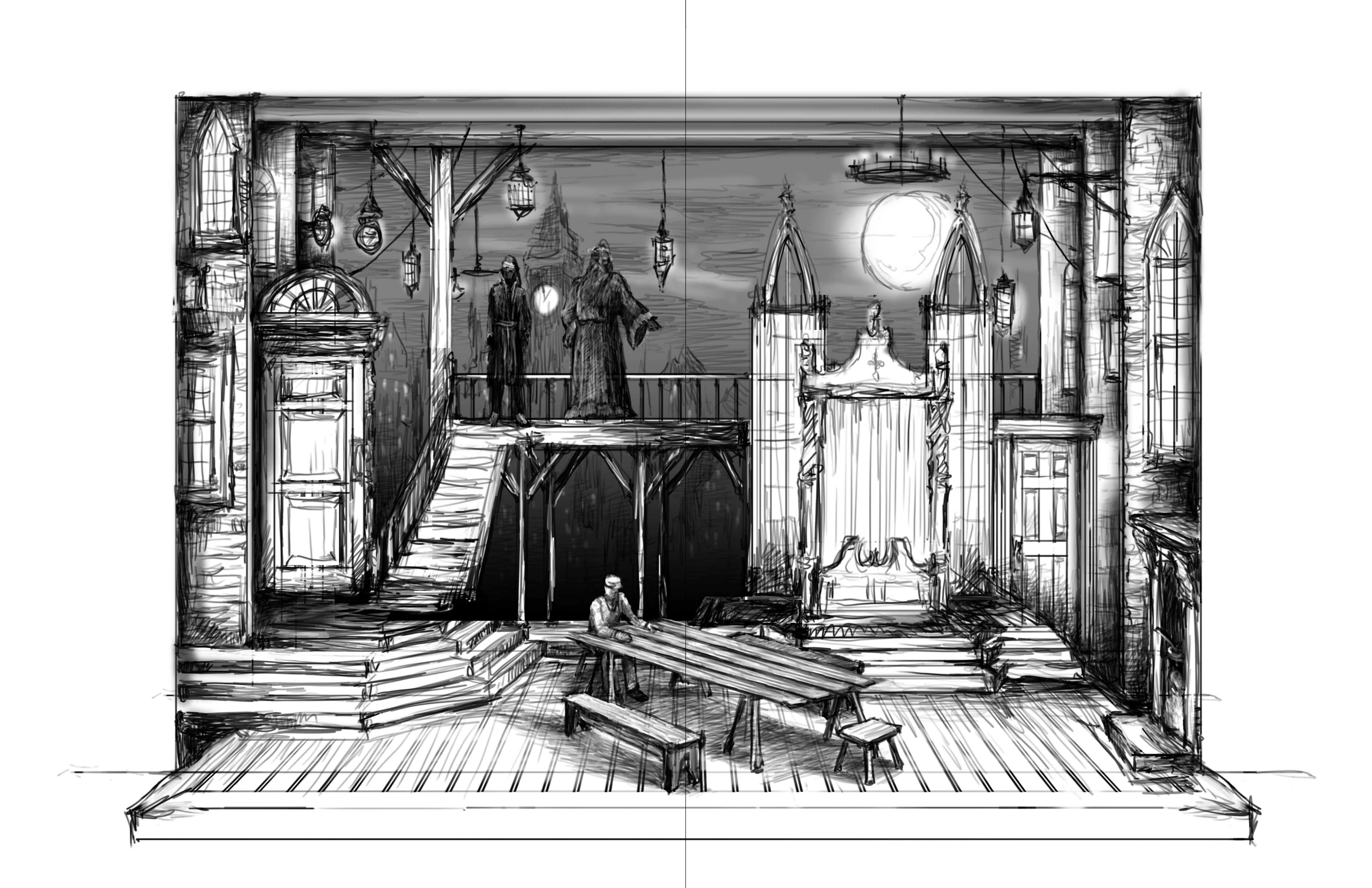 14. Cratchit's House