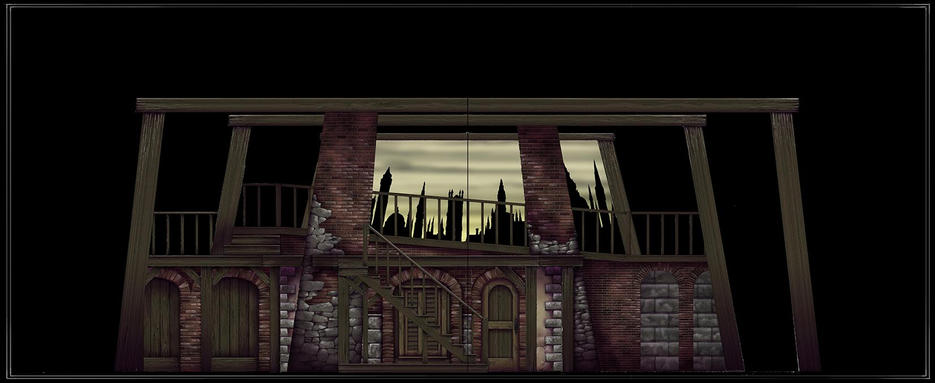 SWEENY TODD: Composite Color Elevation