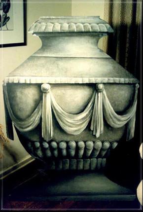 CYRANO DE BERGERAC: Painted Urn