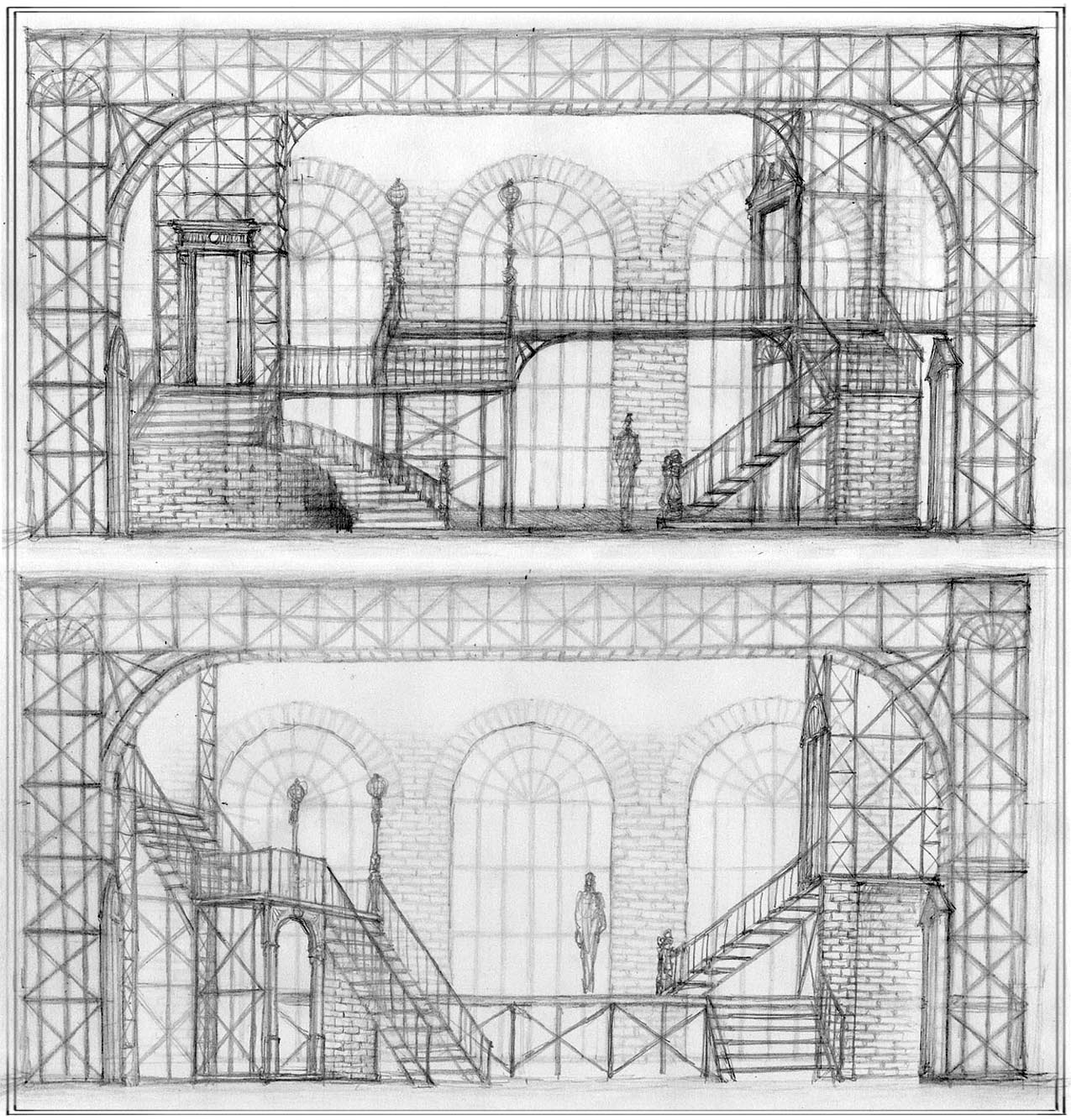 Hoffman-Early Sketches