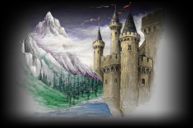 Projection #12: Castle 3