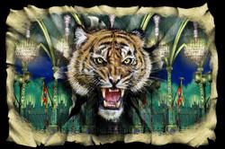 Scene 6a. Palace Ballroom and Tiger