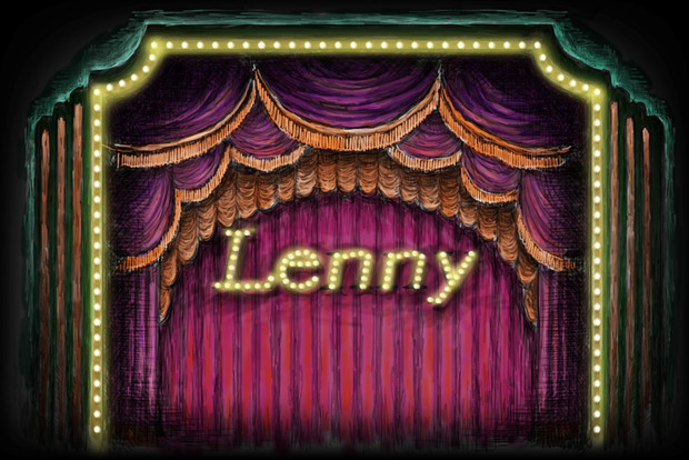 "Projection #6: ""Lenny"""
