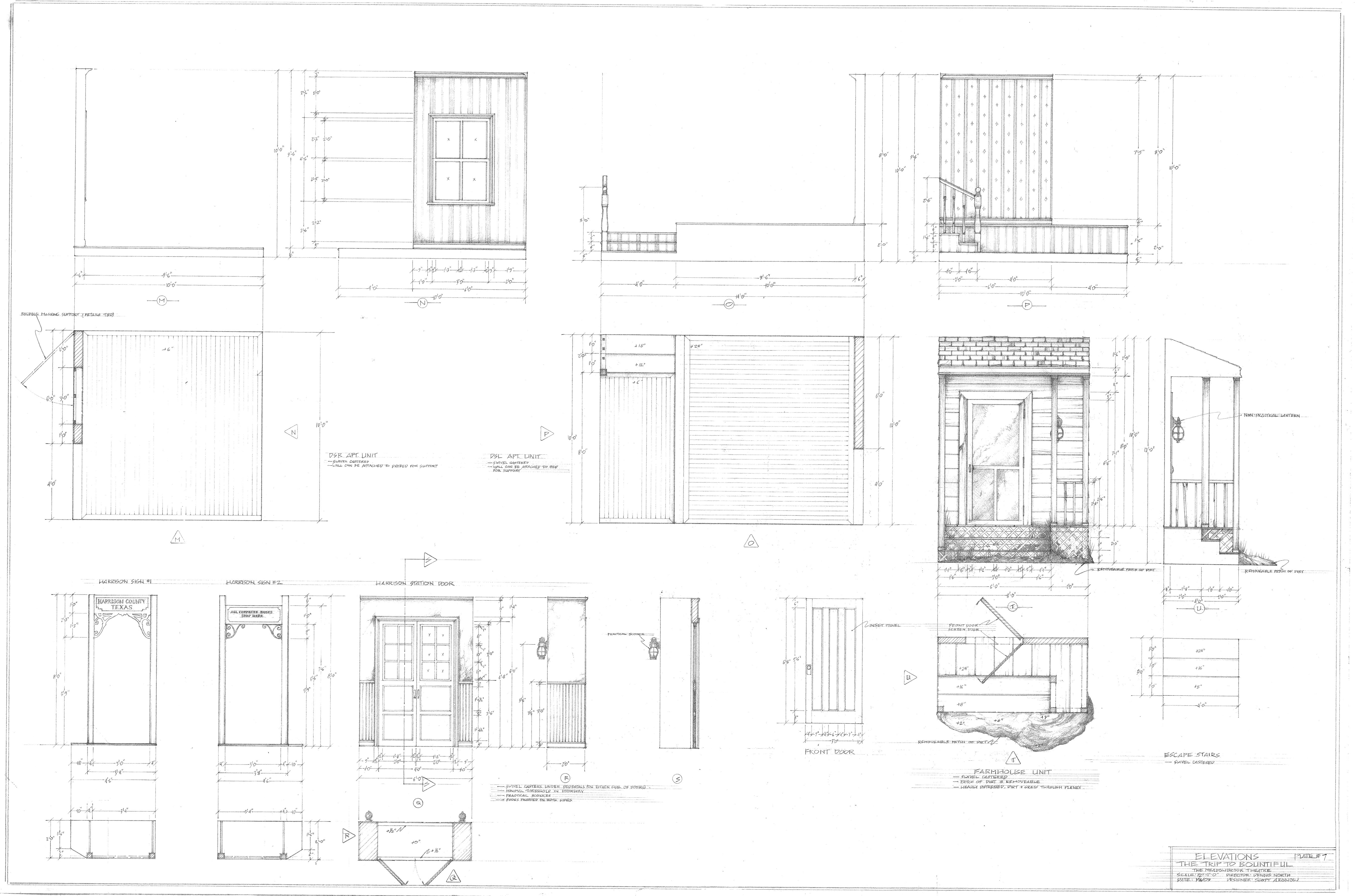 Plate#7-Elevations
