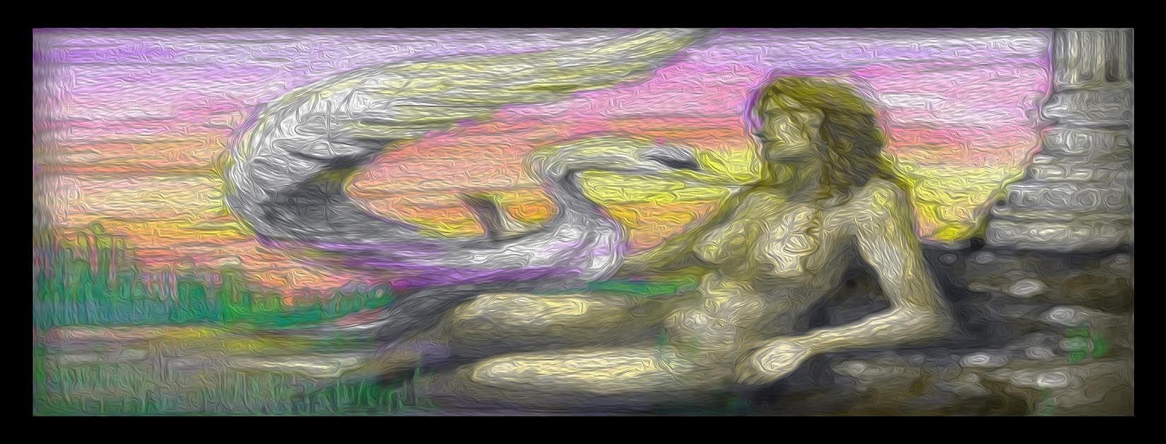 LEDA & THE SWAN: Artwork for La Belle Hélène