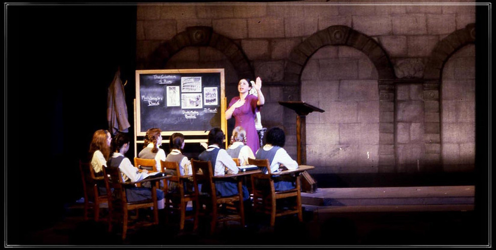 THE PRIME OF MISS JEAN BRODIE: Backdrop