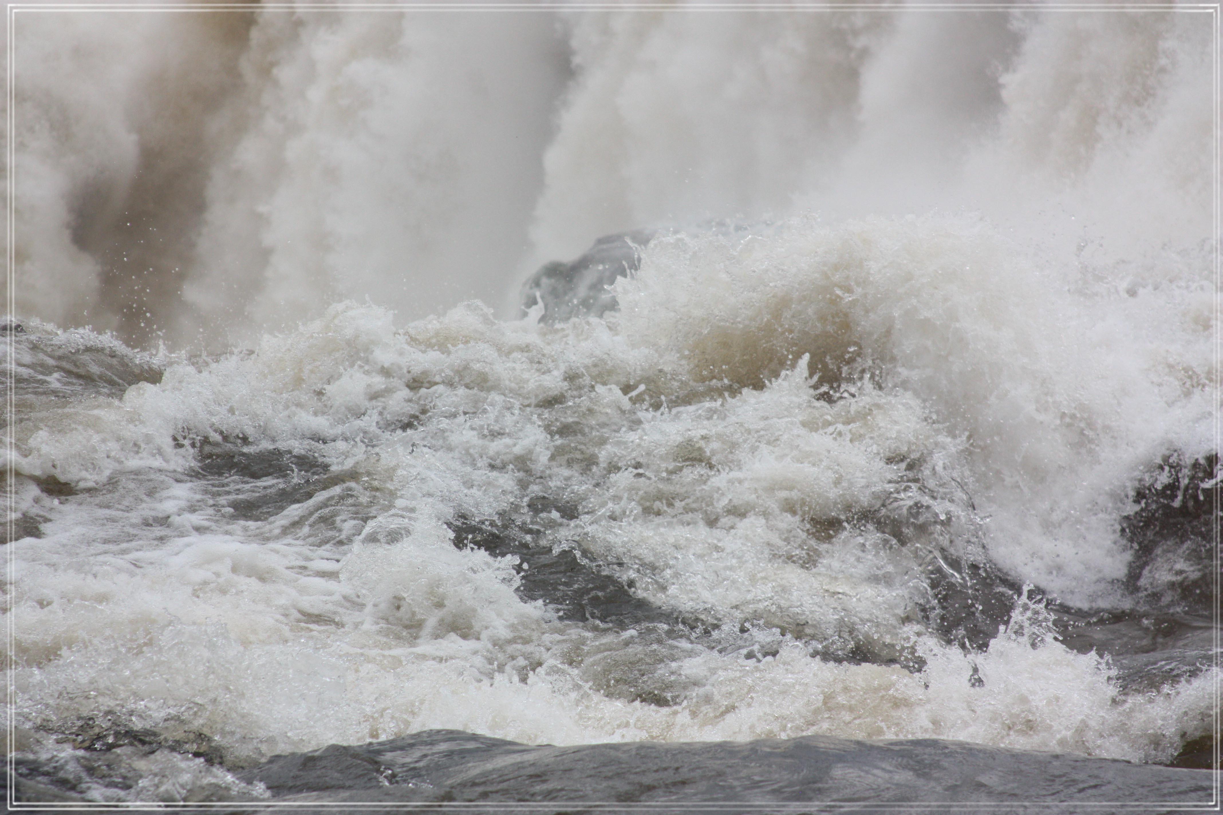 Iguazu Waterfall Closeup #1