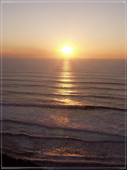 The Pacific Coast #4, Sunset
