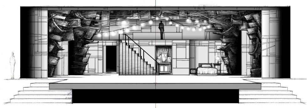 Sketch #5: Girl's Home