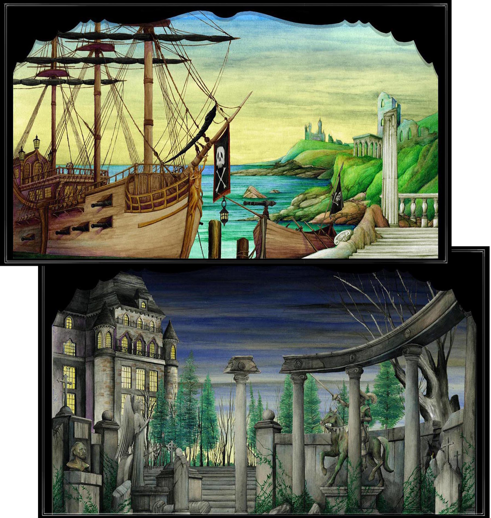 THE PIRATES OF PENZANCE: Projection Designs