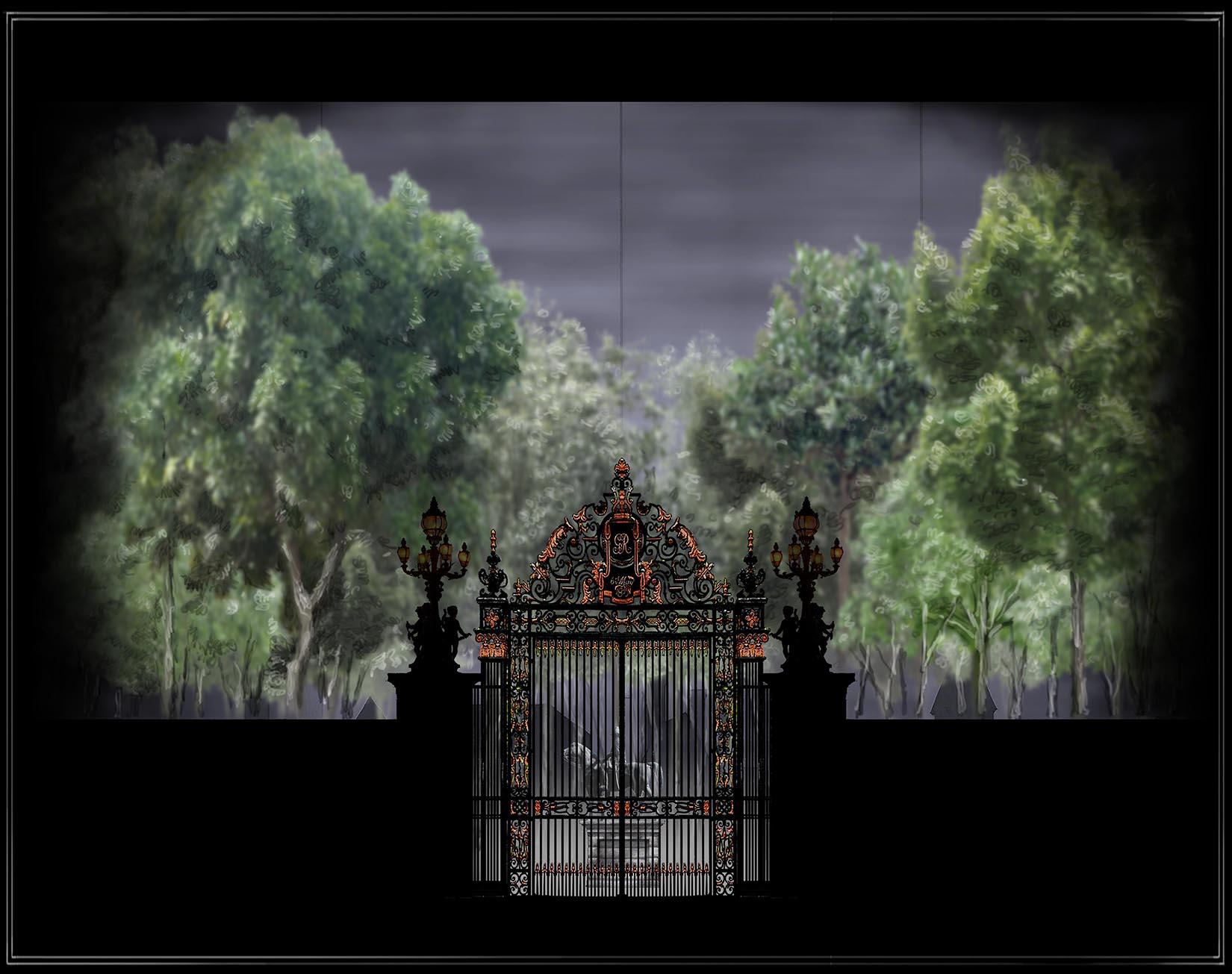 Projection #1: Park Exterior