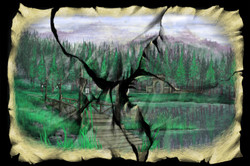 Scene 2g. Lake and Bridge, Post-Tiger