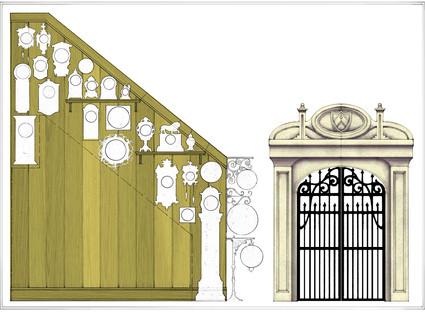 Stairs, Cellar, Gate, Princess Stuff.jpg