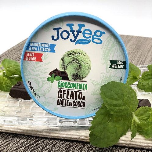 Мороженое кокосовое шоколадно-мятное 300гр.