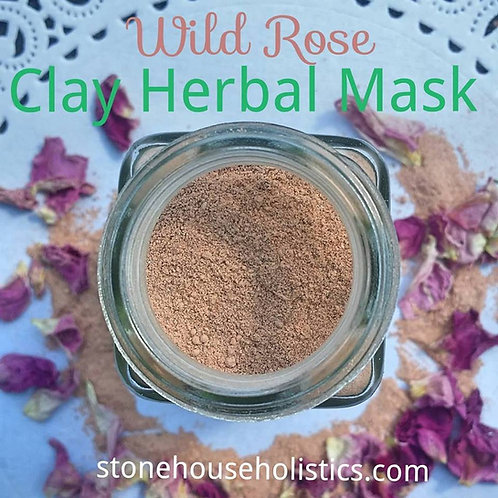 Wild Rose Clay Mask + Cleansing Grains
