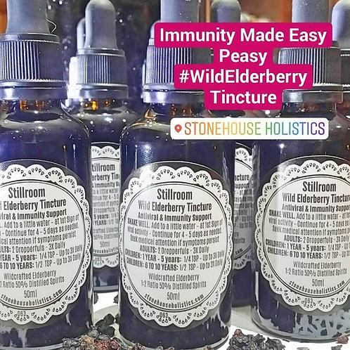Elderberry Tincture - Extract - Wildcrafted