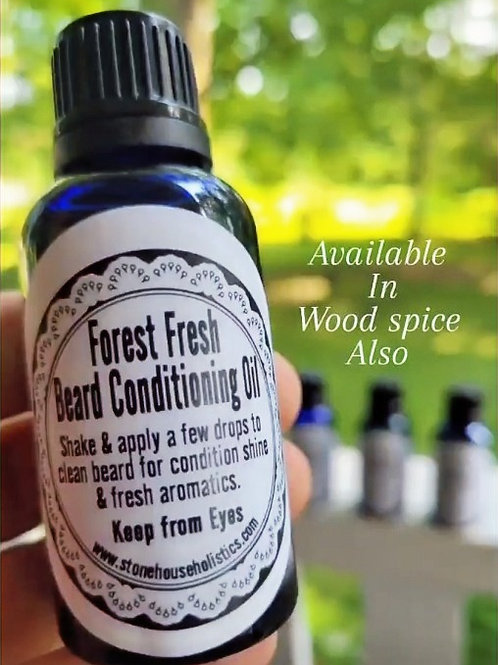 ~Forest Fresh~ Beard/Skin Conditioning Oil
