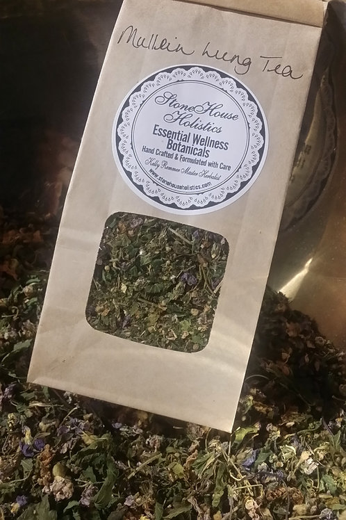 Traditional Mullein Lung Aid Tea