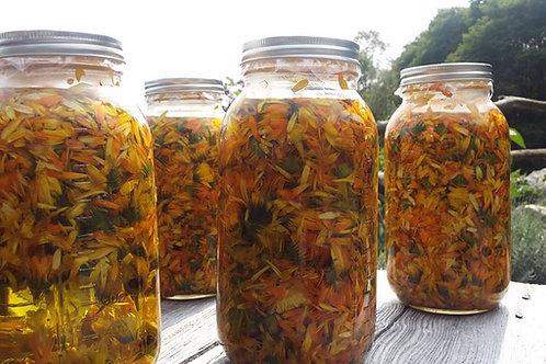 Calendula Flower Oil - Organic Warsaw Ontario