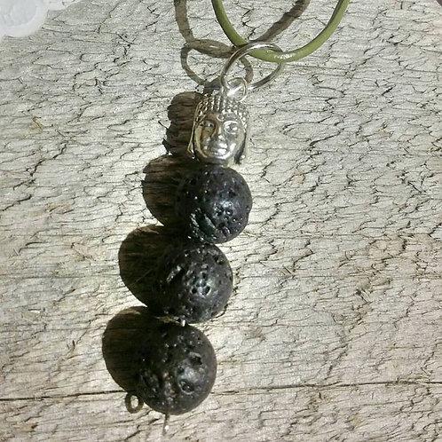 Lava stone Aromatherapy Diffusing Pendant