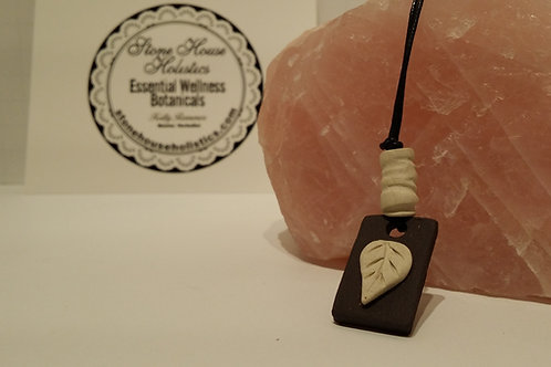 Handcrafted Clay Aromatherapy Diffusing Pendant