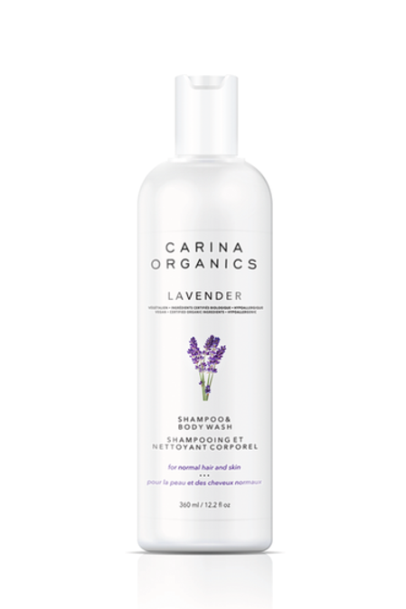 Carina Organics Lavender Shampoo