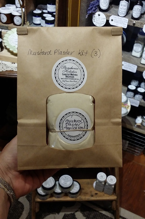 Traditional Mustard Plaster Kit