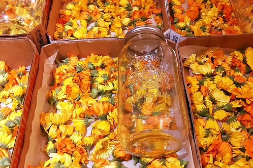 Calendula Flowers - Our Farm Grown - Organic Warsaw Ontario
