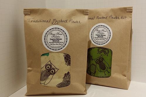Traditional Mustard Plaster Kit