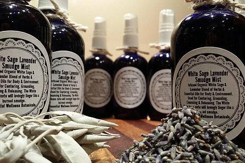 White Sage & Lavender Smudge Mist